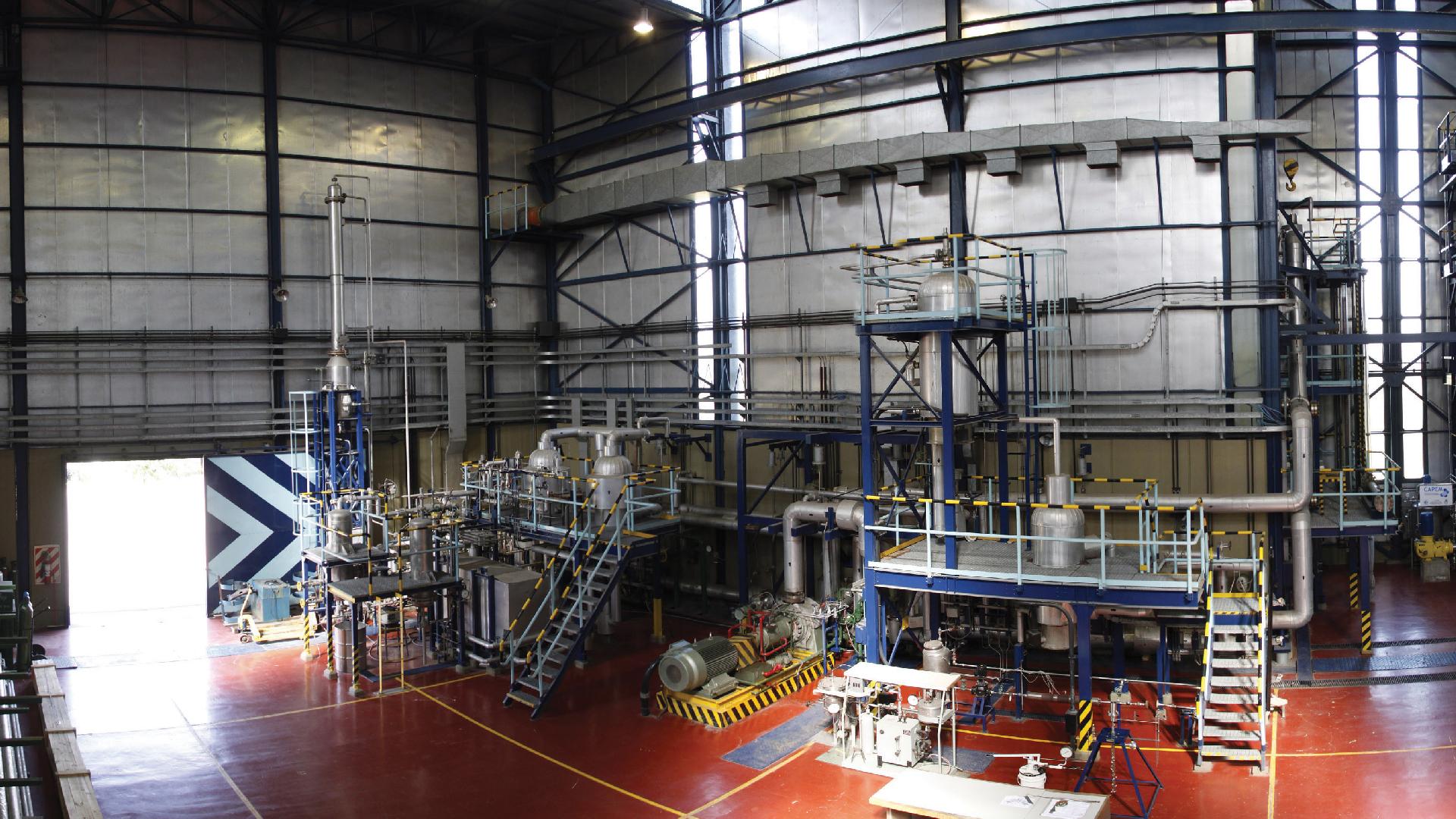 Instalaciones del Laboratorio de Ensayos de Alta Presión (CNEA)
