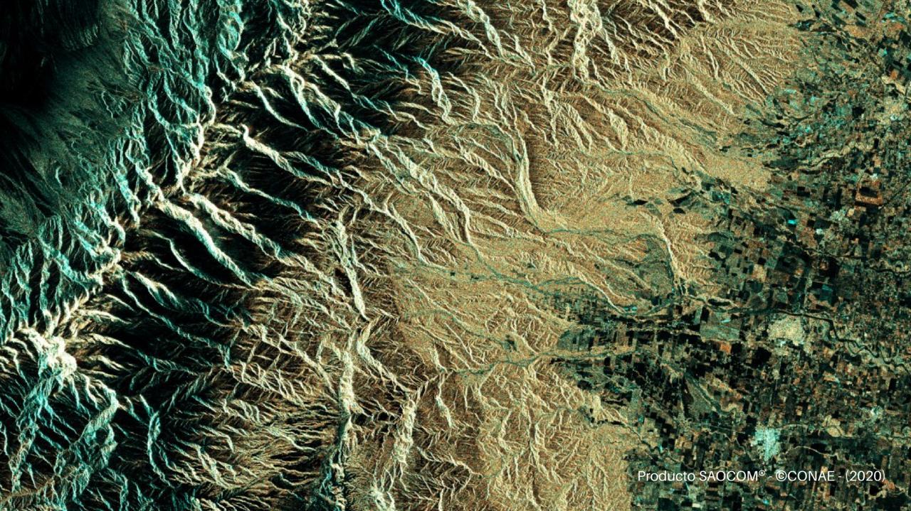 Parque Nacional Aconquija -SAOCOM 1A - 16 de Julio de 2020