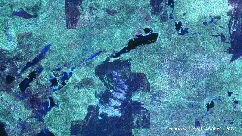 Parque Nacional Lihué Calel - SAOCOM 1A - 18 de Abril de 2020