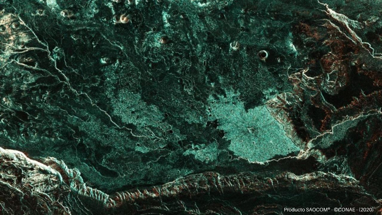 Parque Nacional Patagonia -SAOCOM 1A - 30 de Marzo de 2020