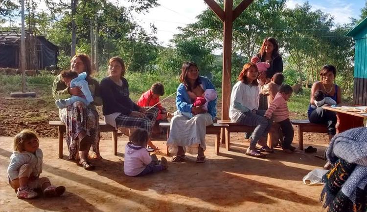 foto: Trabajo de campo con Indígenas en Misiones